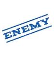 Enemy Watermark Stamp vector image vector image