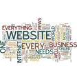 Everyone needs a website text background word