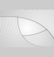 grey abstract concept stripes wavy background vector image