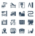 Home Repair Black Icons Collection vector image vector image