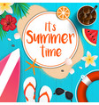 summer background 2018 5 vector image vector image