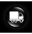 Transport design over black background vector image vector image