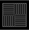 laminate flooring the white path icon vector image