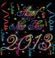 2013 Happy new year vector image vector image