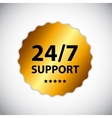 24-7 support sign label template