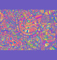 bright psychedelic abstract design pattern with vector image