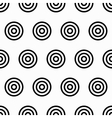 Geometry seamless pattern with concentric circles vector image vector image