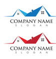 Home and Building Business Property Logo Template vector image