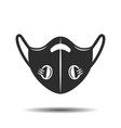 icon medical respiratory mask isolated on vector image vector image