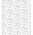 japanese seamless pattern cut out from paper vector image vector image