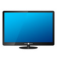 lcd tv vector image vector image