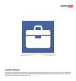 tool box icon - blue photo frame vector image