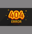404 error game style vector image vector image