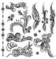 design elemets vector image vector image