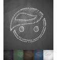 face icon Hand drawn vector image vector image