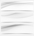 Header soft abstract line web collection vector image