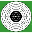 raked target vector image vector image