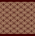 seamless linear pattern with elegant curved lines vector image vector image