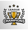 Sports league logo emblem badge