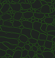 Crocodile Skin Seamless Background vector image vector image