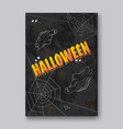 ghosts for halloween on white background cute vector image vector image