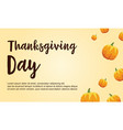 thanksgiving theme card style collection vector image
