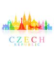 Prague Czech Republic vector image