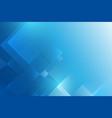 abstract blue geometric shape technology digital vector image vector image