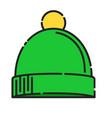 baby hat icon design clip art color icon design vector image