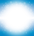 Christmas and winter background - blue vector image vector image