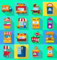 design amusement and store icon vector image