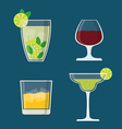 Drinks digital design vector image