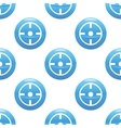Target sign pattern vector image vector image