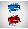 Abstract Background with Blots and splatters vector image