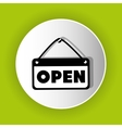 Open advert icon symbol design vector image vector image