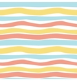 Pattern pastel stripes vector image vector image