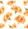 seamless texture yellow hibiscus cracks vintage vector image vector image