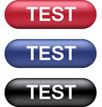 test buttons collection vector image