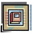vector book graphic vector image vector image