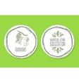 Ayurvedic Herb - Product Label with Guduchi vector image
