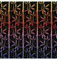 bamboo wallpaper vector image vector image