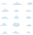 Cloud Collection 1 vector image vector image