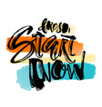 Fresh start now vector image vector image