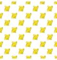 List pattern cartoon style vector image vector image