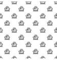 open brand box pattern seamless vector image