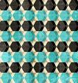 retro rhombus seamless pattern vector image vector image