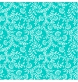 Seamless classic floral background vector image vector image