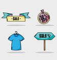 special sale price market shop vector image