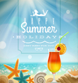 Summer holidays with lettering emblem vector | Price: 3 Credits (USD $3)