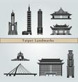 Taipei landmarks